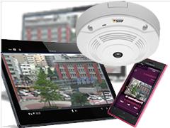 ネットワークカメラを使ったマンション・アパート向け監視カメラシステム